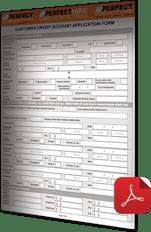 Credit Application Form PERFECT CONCRETE CARE