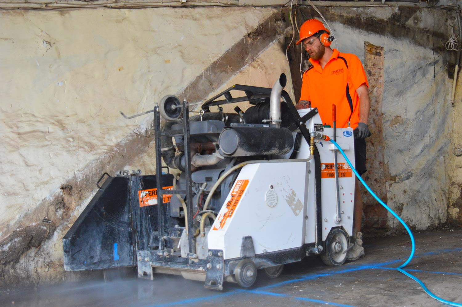 concrete cutting road sawing sydney