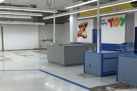 Concrete Cutting and Coring – TOYS R US Chatswood