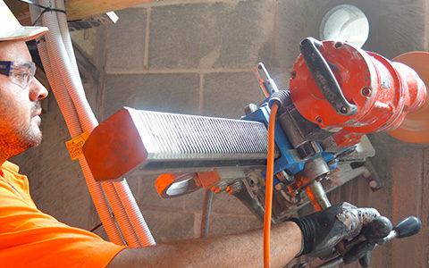 concrete coring marrickville sydney