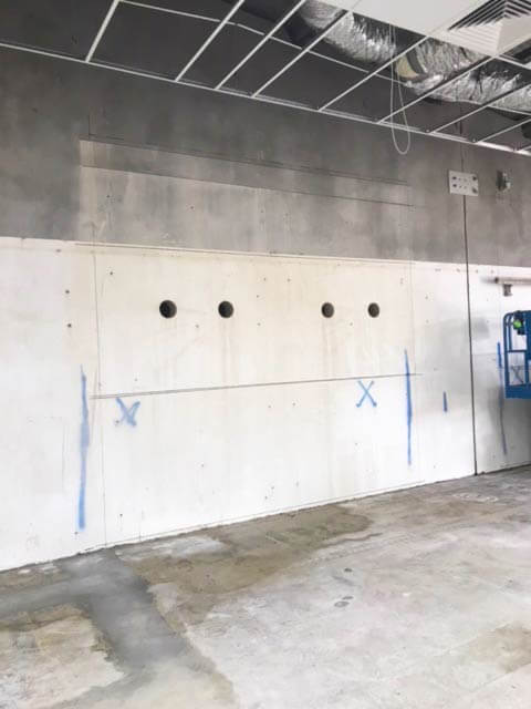 concrete wall sawing sydney