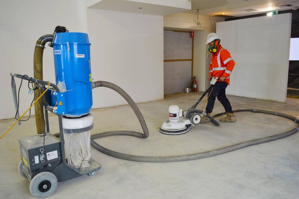 How To Use A Concrete Grinder Perfect Concrete Care