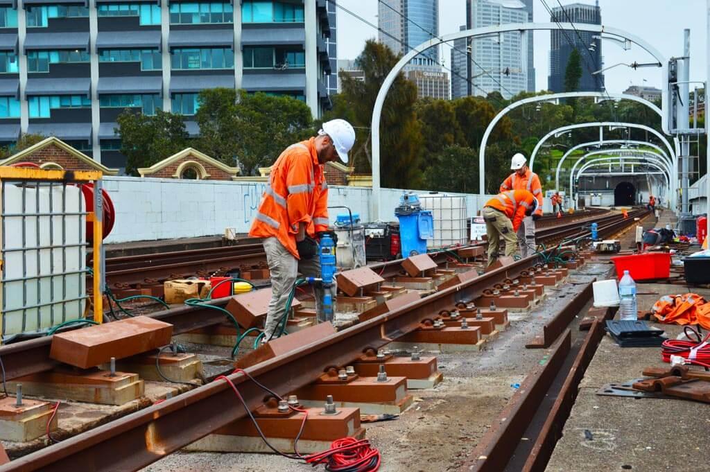 concrete coring rail network sydney
