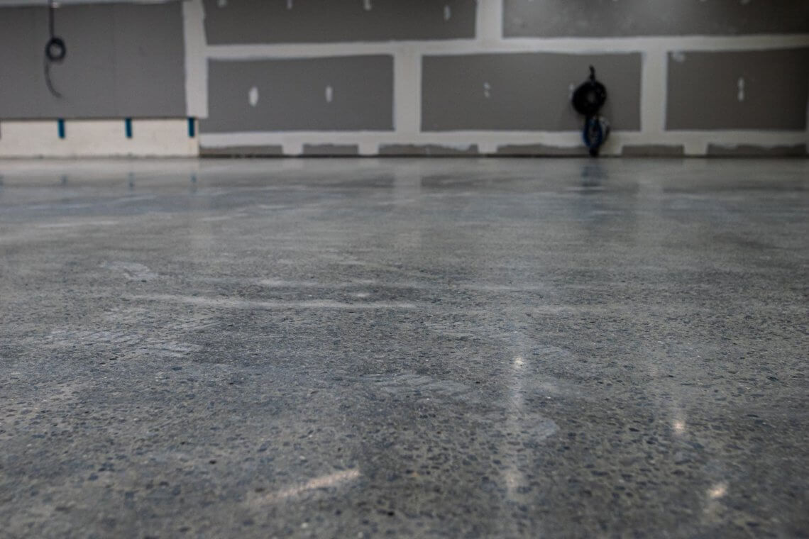 Concrete Polishing - Fitness First, Campbelltown Mall
