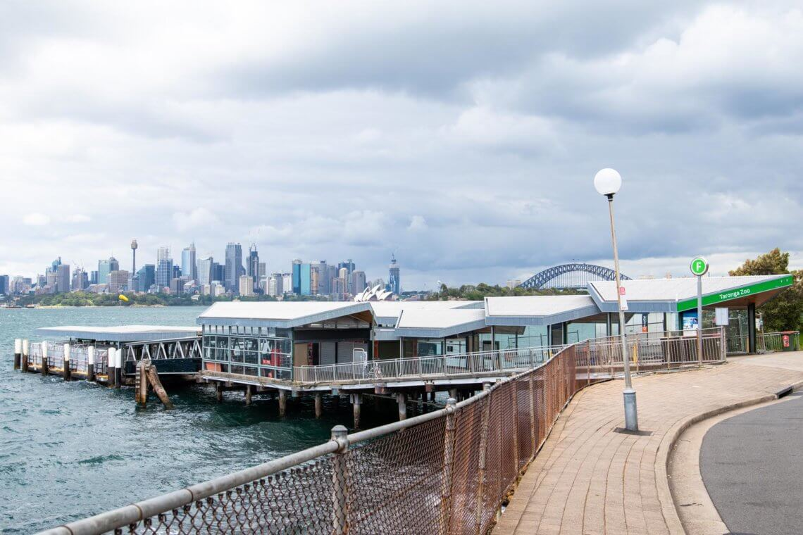 Epoxy Removal - Taronga Zoo Wharf