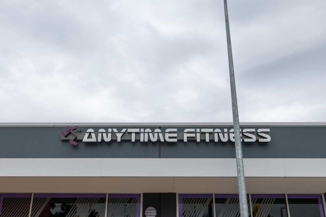 anytime fitness 130m2 grinding
