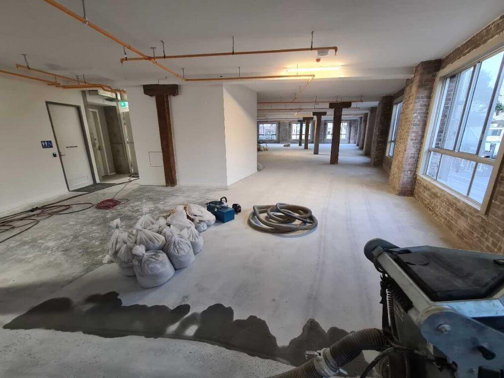 grind, seal and polish floors