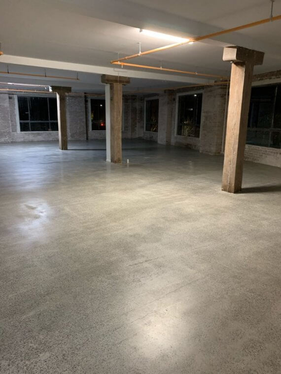 Grind, seal and polish floors - Surry Hills