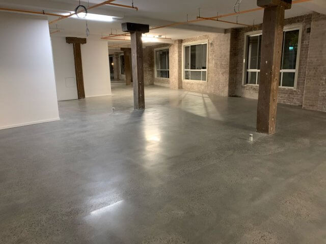 Grind, seal and polish floors up to 500 grit