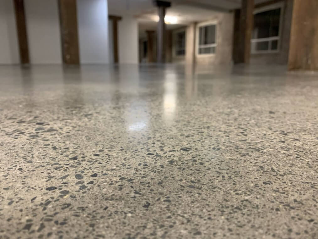 concrete floor works