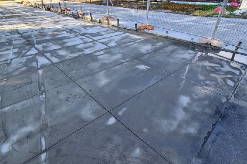 Concrete slab cutting in Erskine Park
