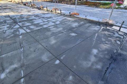 Concrete slab cutting in Erskine Park