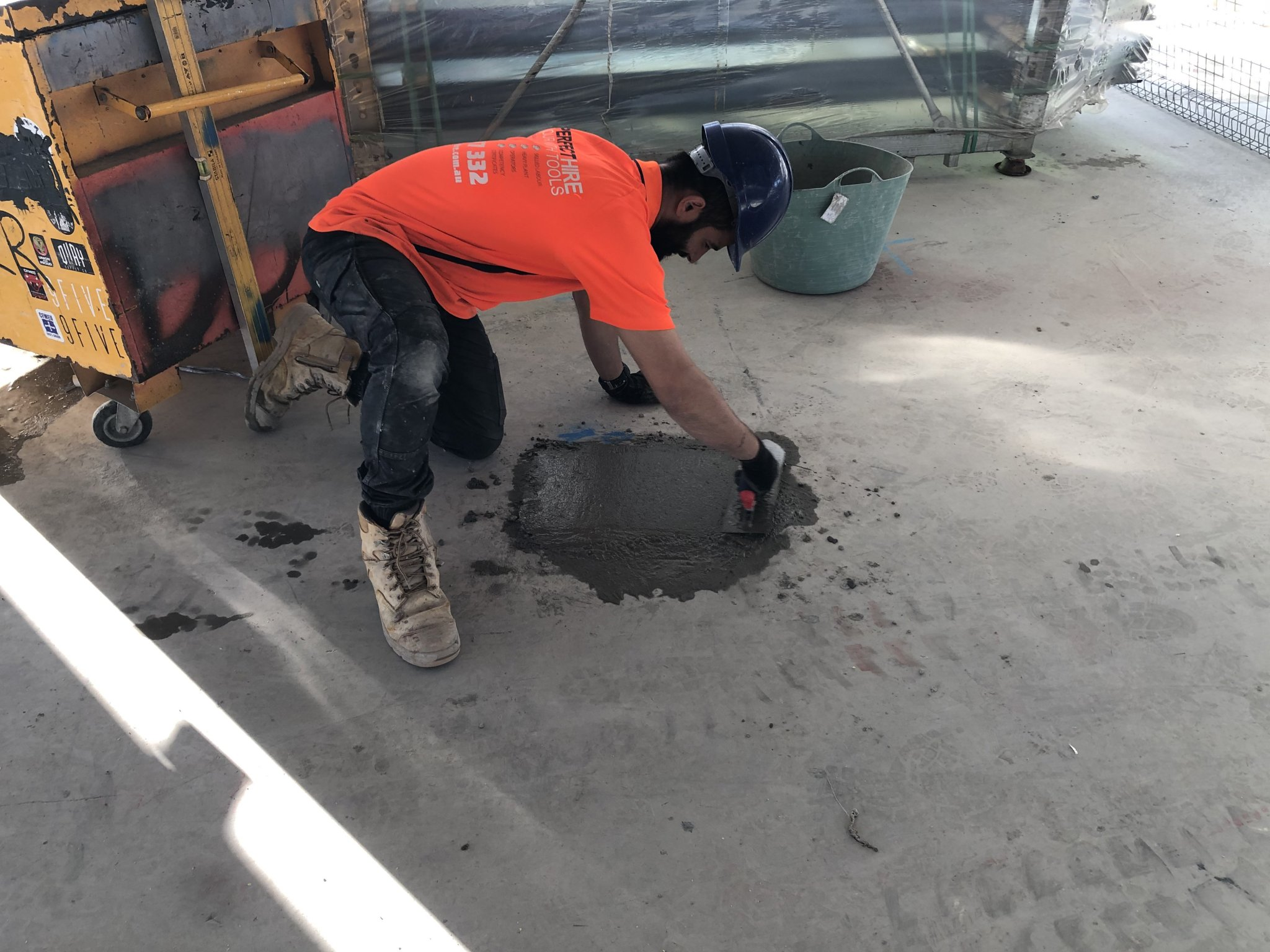 Concrete patching in Hurstville