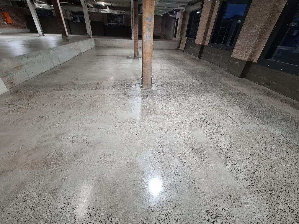 Concrete slab refurbish - Surry Hills