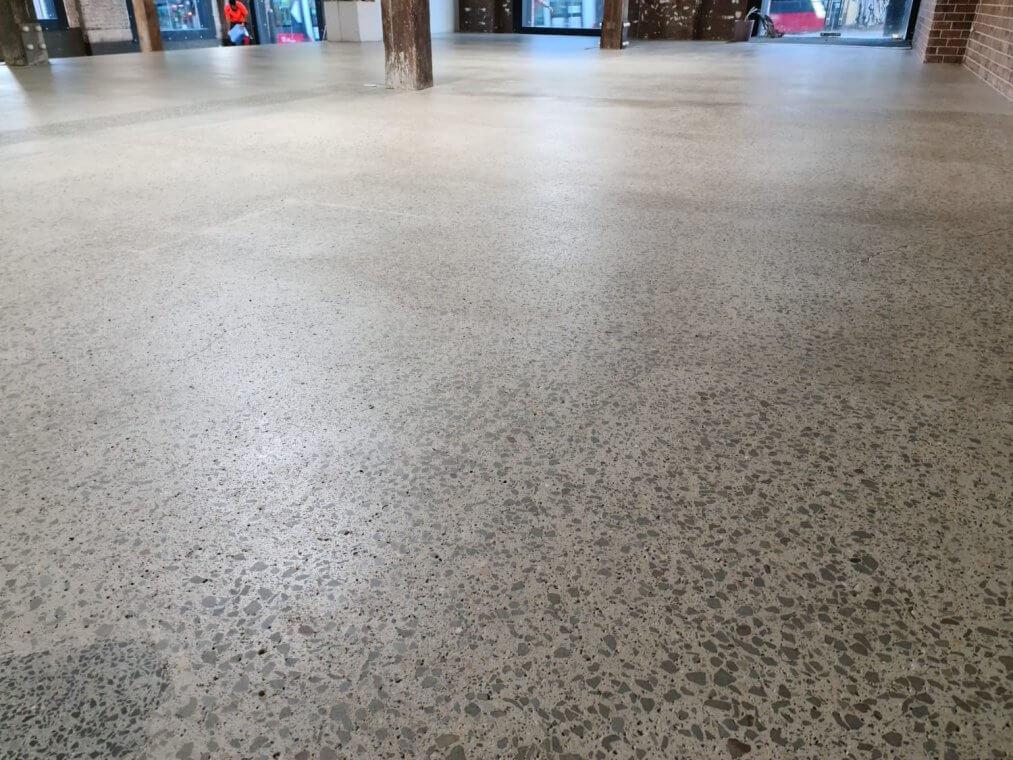 concrete slab - refurbish