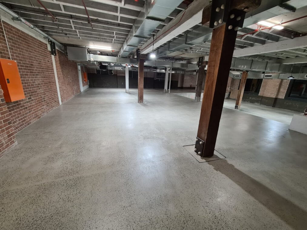 concrete slab grinding and sealing - Surry Hills