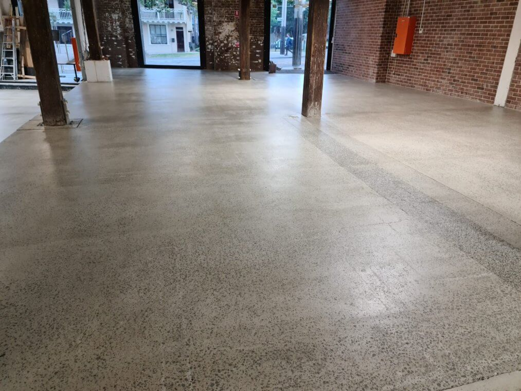 concrete slab grinding and sealing