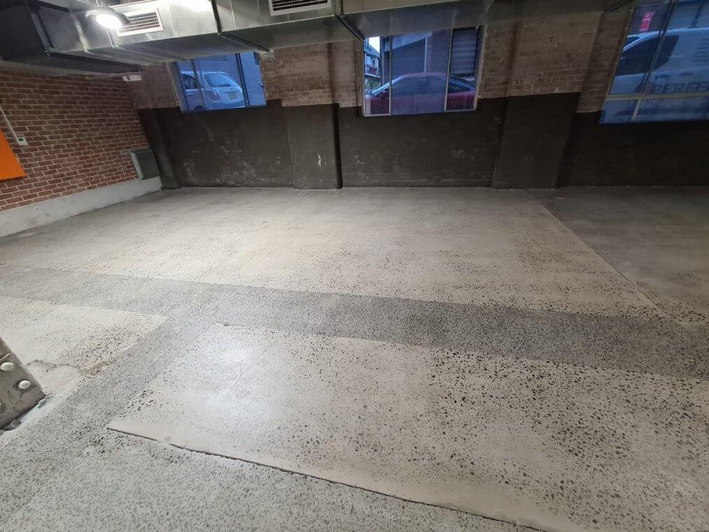 grinding and sealing - concrete slab refurbish