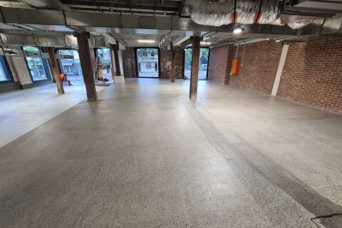 Refurbish of the concrete slab in Surry Hills
