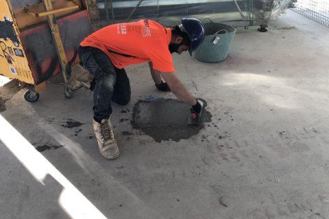Concrete crack repair - Perfect Concrete Care