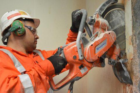 Demo Sawing - Perfect Concrete Care